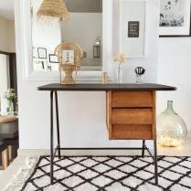 decoratrice-bureau-vintage-brocante-noir-bois-lyon-mont-dor